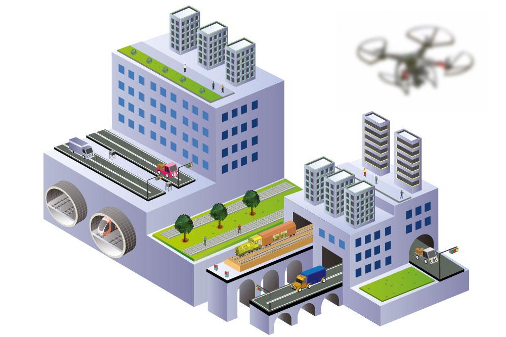 Einsatzbereich Industrie und Wirtschaft-AIRMADA Autonome Drohnen